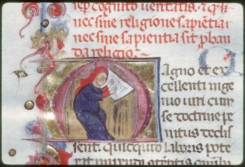 Tours, Bibl. mun., ms. 0258, f. 008v - vue 2