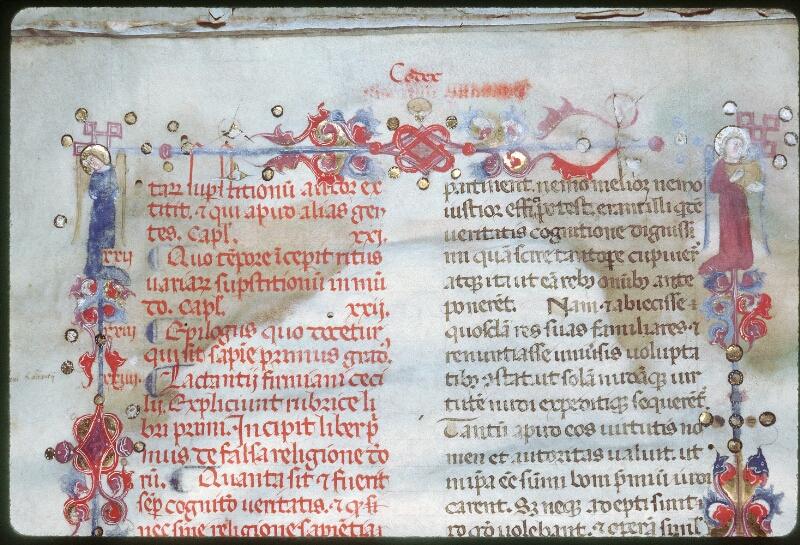 Tours, Bibl. mun., ms. 0258, f. 008v - vue 3