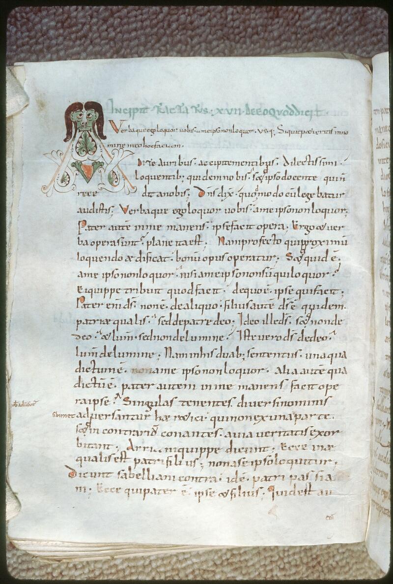 Tours, Bibl. mun., ms. 0290, f. 122v - vue 1