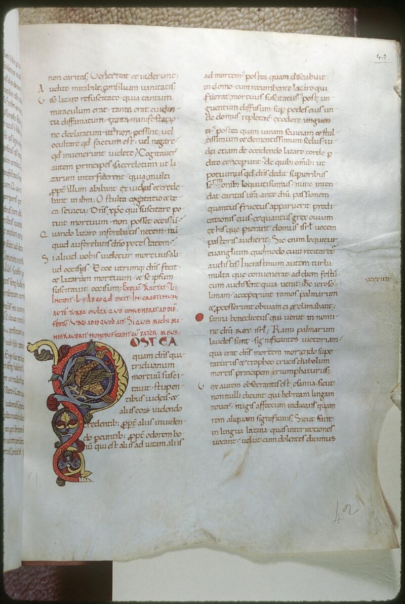 Tours, Bibl. mun., ms. 0291, f. 042