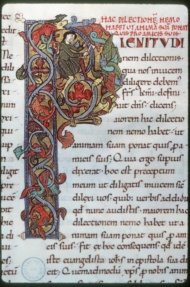 Tours, Bibl. mun., ms. 0291, f. 087 - vue 1