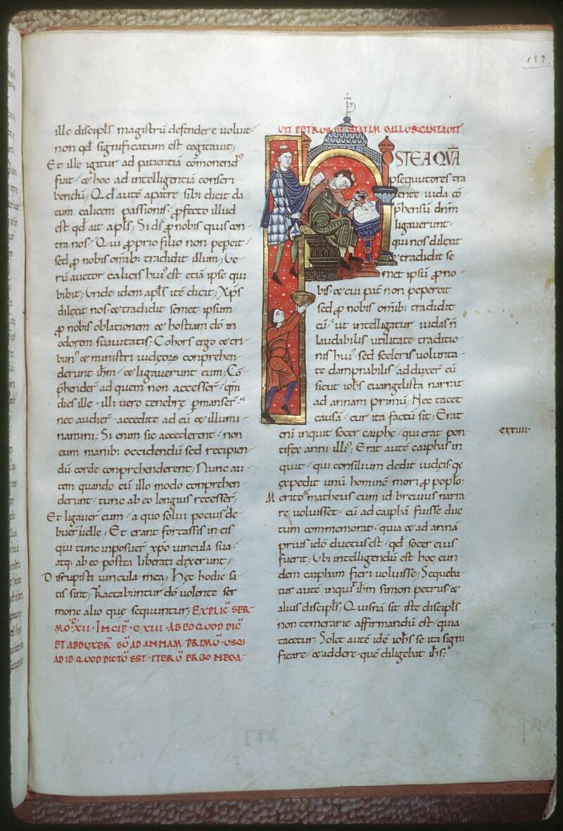 Tours, Bibl. mun., ms. 0291, f. 132 - vue 1