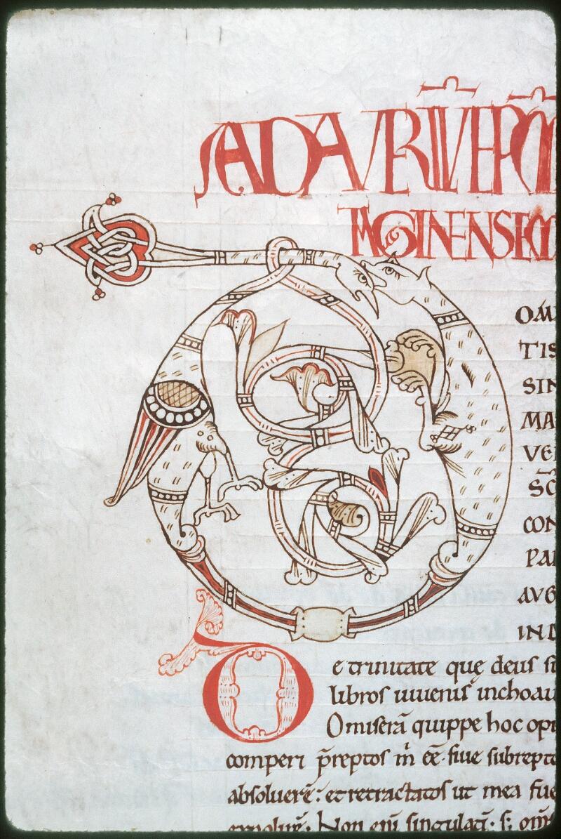Tours, Bibl. mun., ms. 0297, f. 004v - vue 2