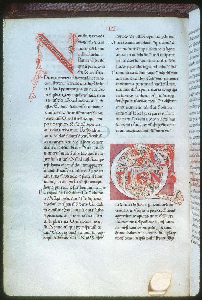Tours, Bibl. mun., ms. 0319, f. 089v - vue 1