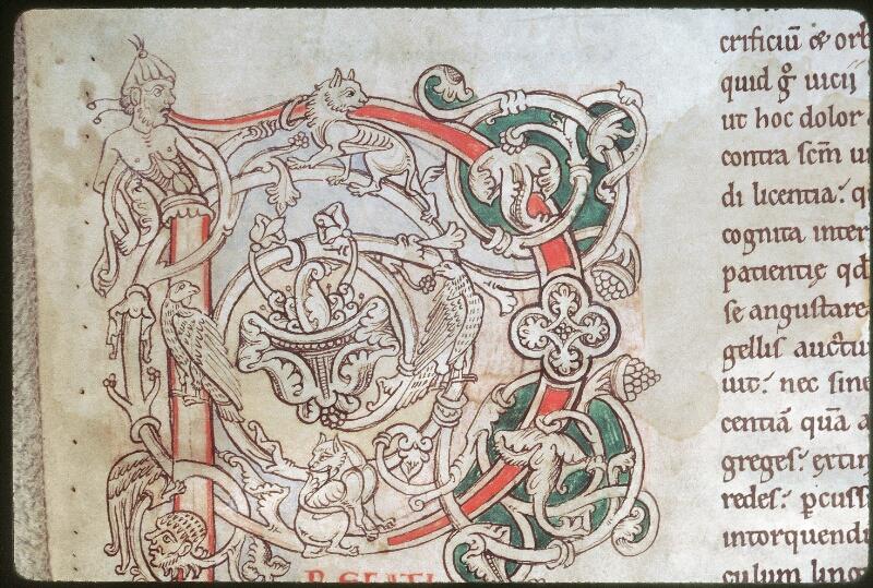 Tours, Bibl. mun., ms. 0320, f. 001v - vue 2