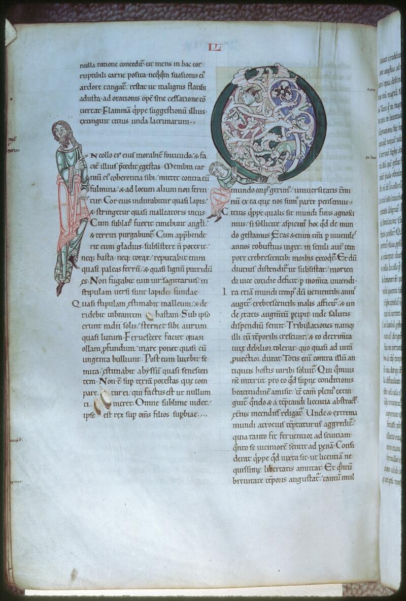 Tours, Bibl. mun., ms. 0320, f. 164v - vue 1
