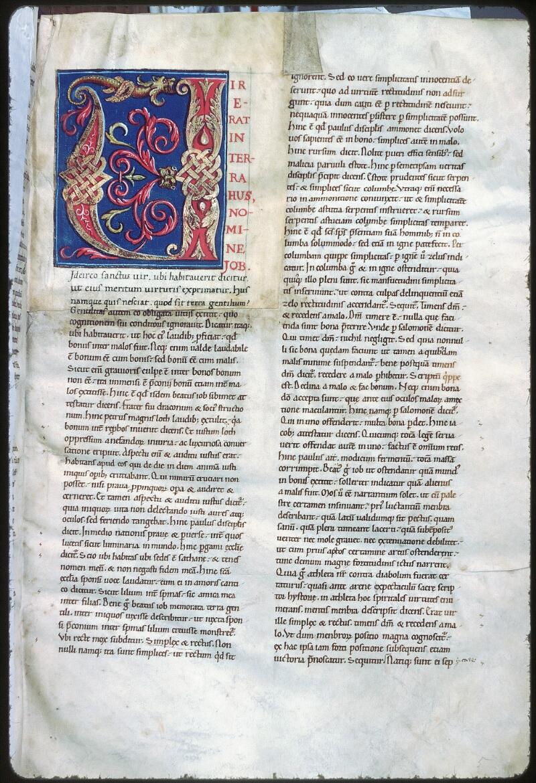 Tours, Bibl. mun., ms. 0321, f. 006 - vue 1