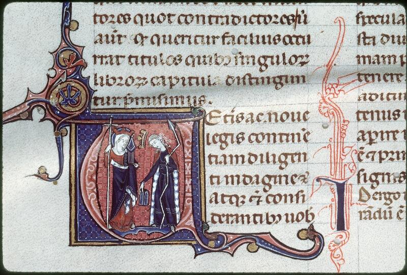Tours, Bibl. mun., ms. 0355, f. 001v - vue 2