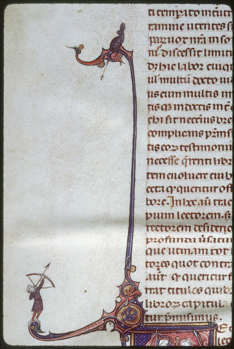 Tours, Bibl. mun., ms. 0355, f. 001v - vue 3
