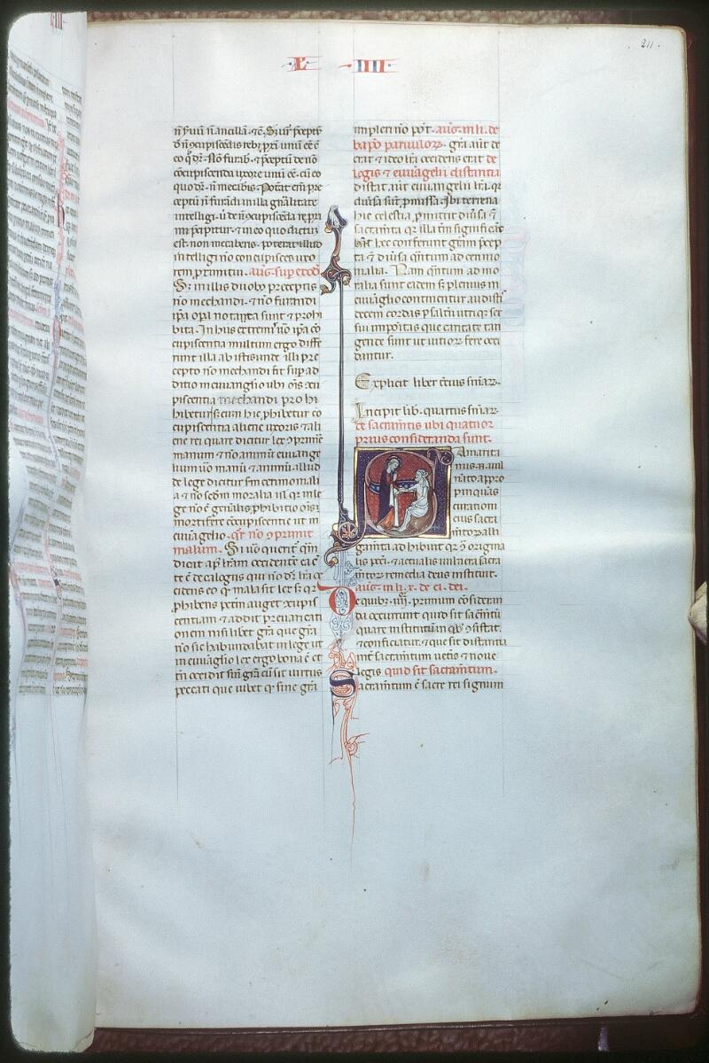 Tours, Bibl. mun., ms. 0355, f. 211 - vue 1
