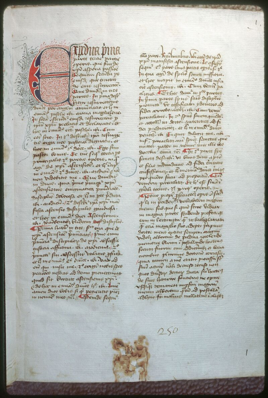 Tours, Bibl. mun., ms. 0486, f. 001