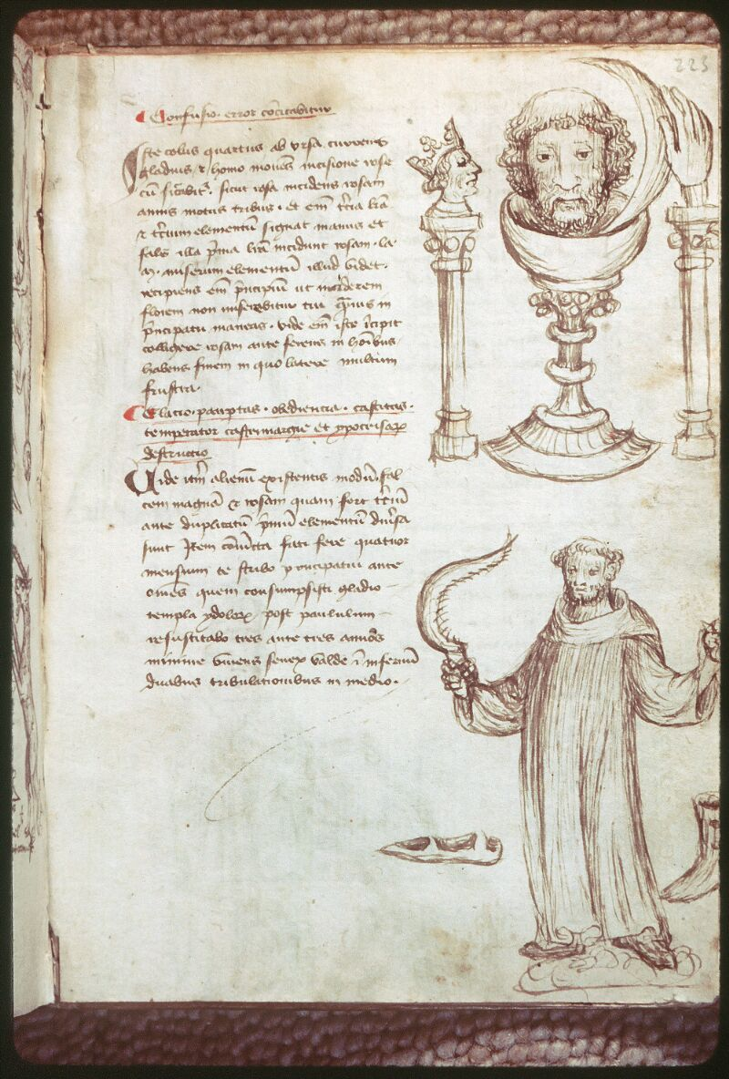 Tours, Bibl. mun., ms. 0520, f. 223 - vue 1