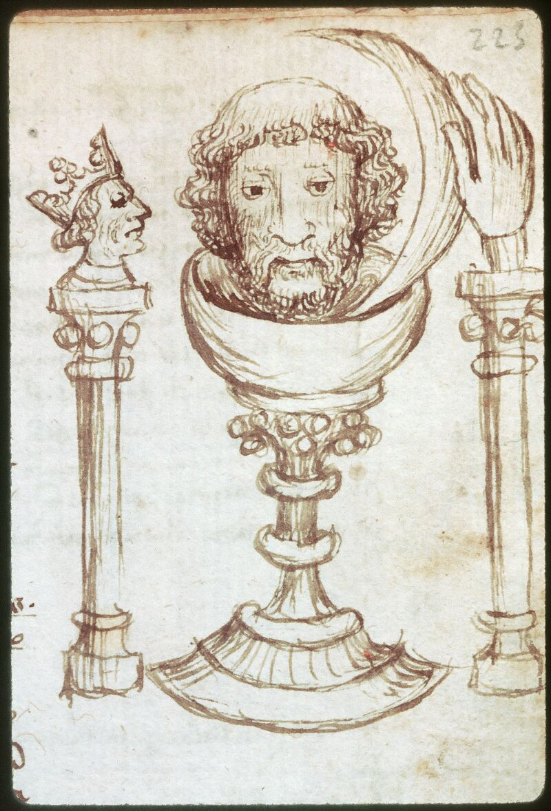 Tours, Bibl. mun., ms. 0520, f. 223 - vue 2