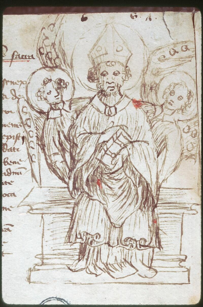 Tours, Bibl. mun., ms. 0520, f. 225v - vue 2