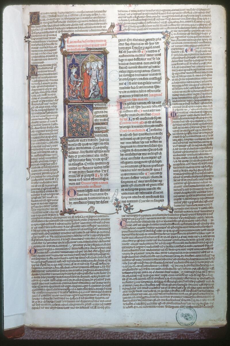 Tours, Bibl. mun., ms. 0558, f. 001 - vue 1