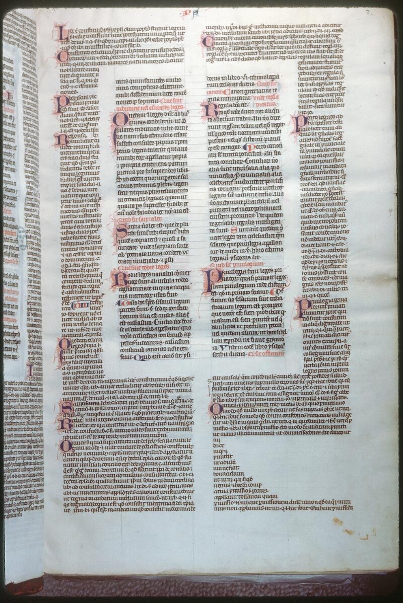 Tours, Bibl. mun., ms. 0558, f. 002