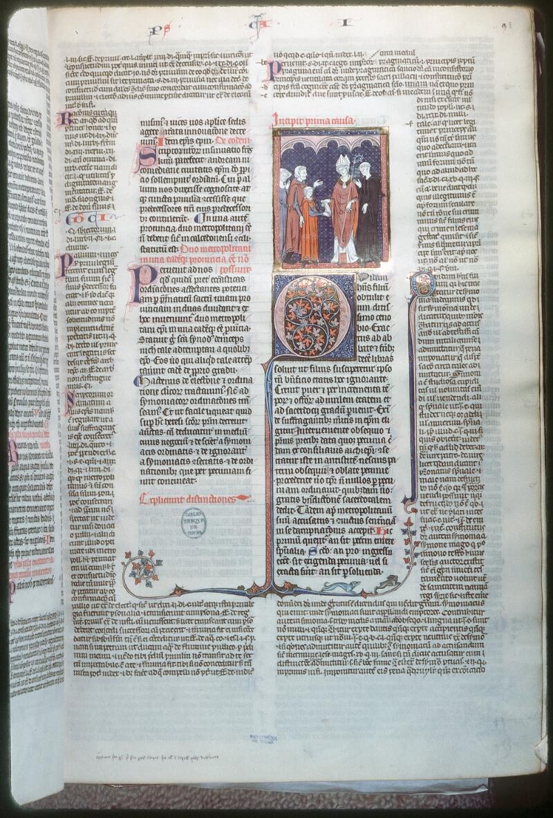 Tours, Bibl. mun., ms. 0558, f. 093 - vue 1