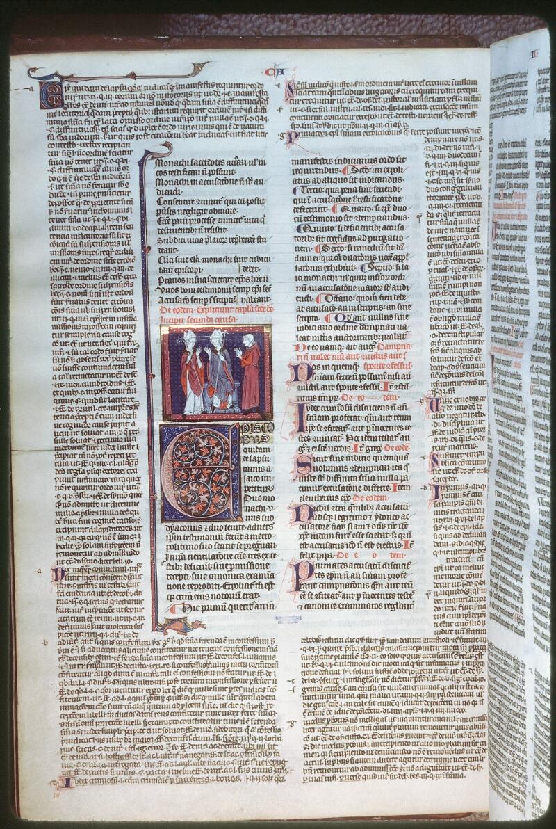 Tours, Bibl. mun., ms. 0558, f. 115v - vue 1