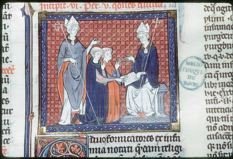 Tours, Bibl. mun., ms. 0558, f. 147 - vue 2