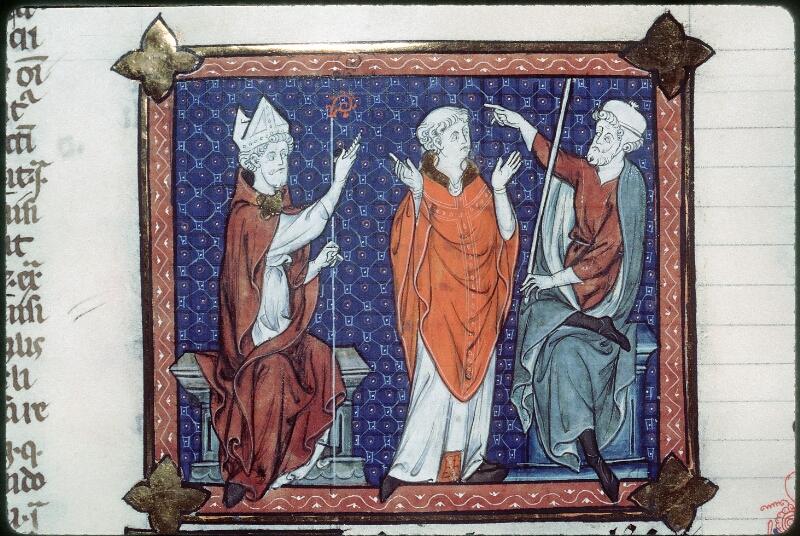 Tours, Bibl. mun., ms. 0558, f. 164v - vue 2