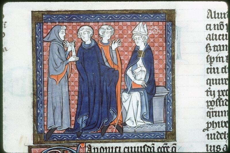 Tours, Bibl. mun., ms. 0558, f. 189 - vue 2