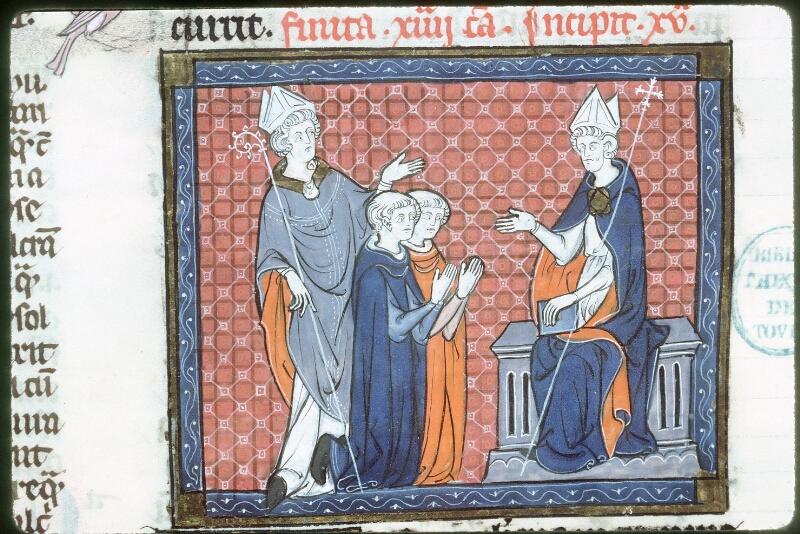 Tours, Bibl. mun., ms. 0558, f. 191v - vue 2