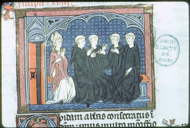Tours, Bibl. mun., ms. 0558, f. 211 - vue 2