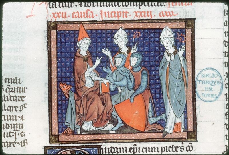 Tours, Bibl. mun., ms. 0558, f. 225v - vue 2
