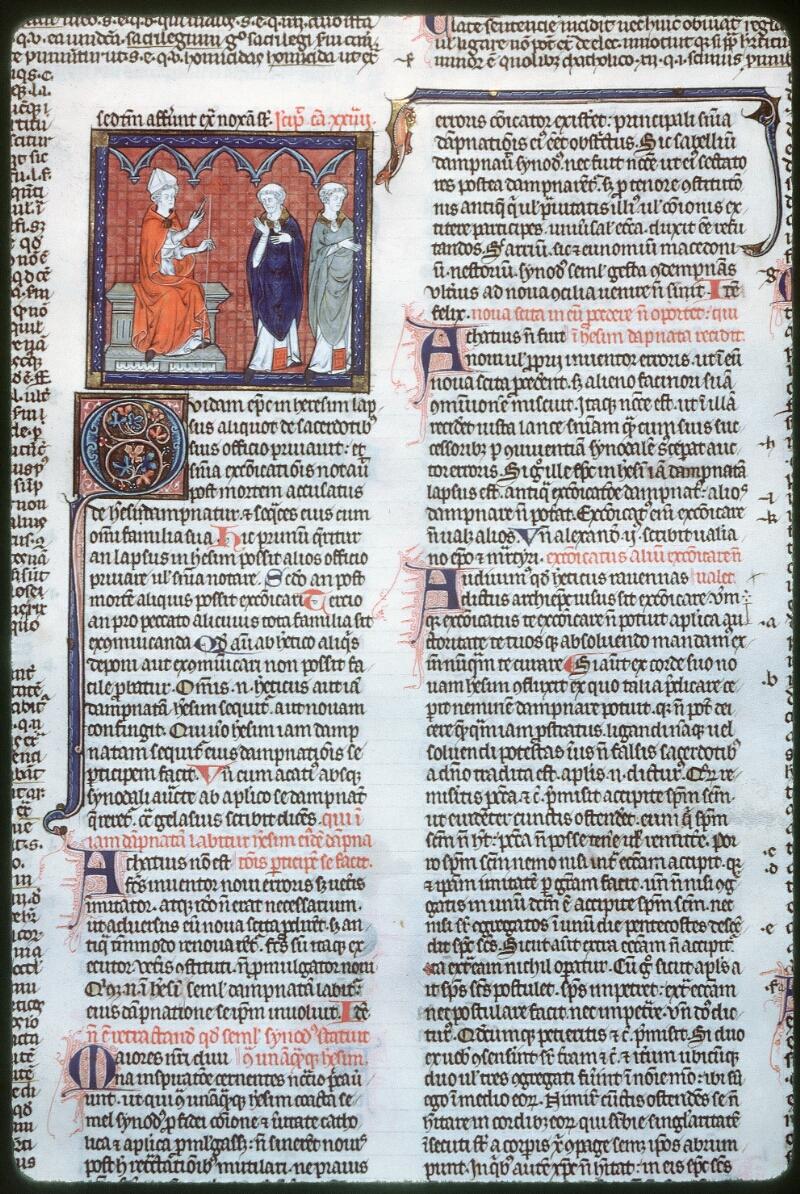 Tours, Bibl. mun., ms. 0558, f. 244 - vue 1
