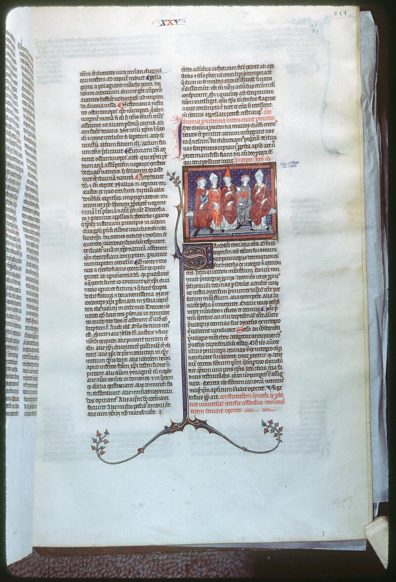 Tours, Bibl. mun., ms. 0558, f. 253 - vue 1