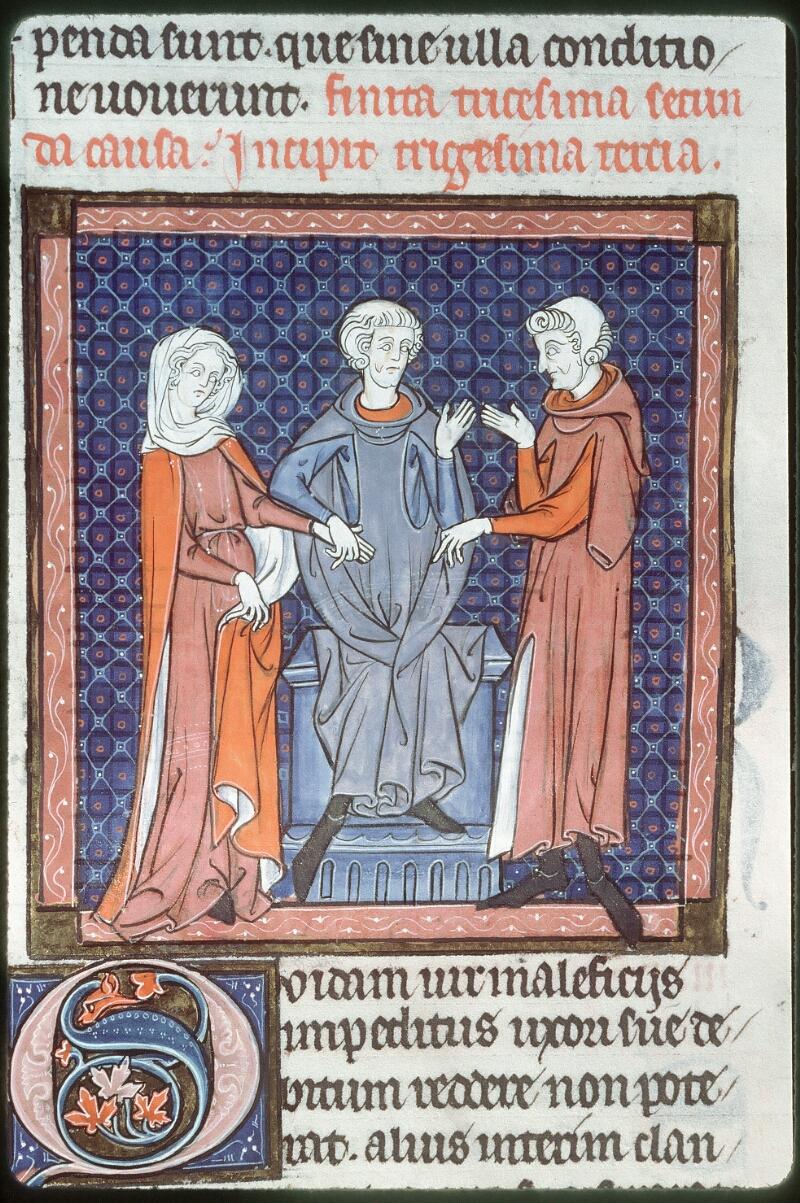 Tours, Bibl. mun., ms. 0558, f. 285v - vue 2