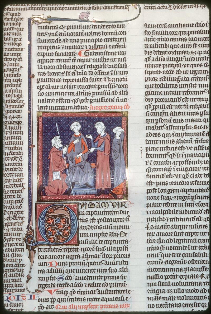 Tours, Bibl. mun., ms. 0558, f. 316 - vue 1