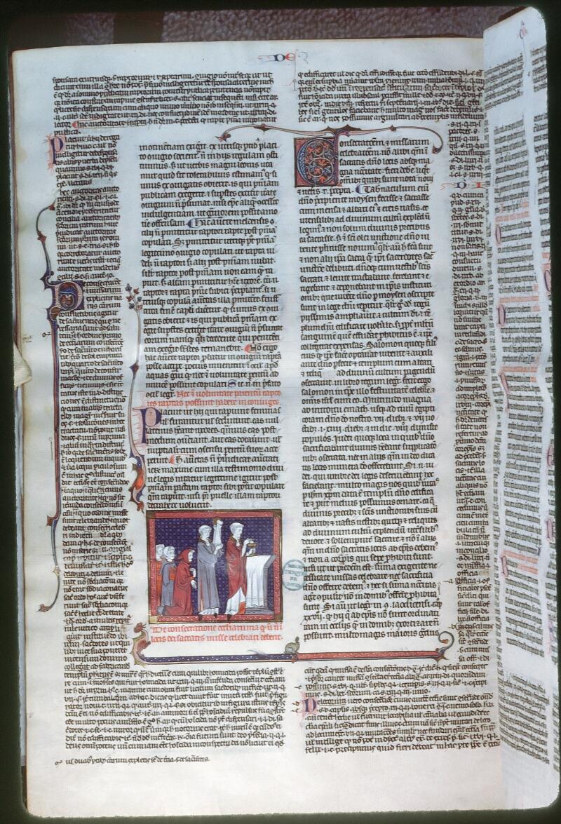 Tours, Bibl. mun., ms. 0558, f. 324v - vue 1