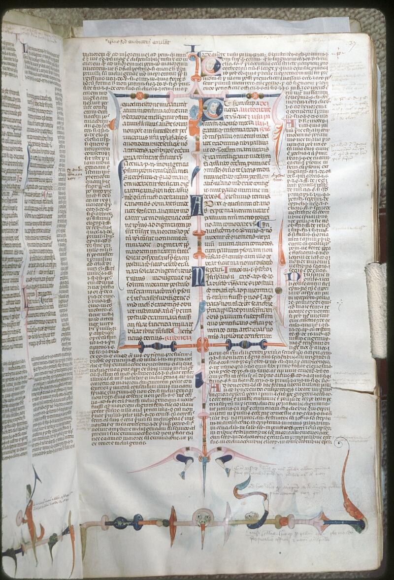 Tours, Bibl. mun., ms. 0568, f. 037 - vue 1
