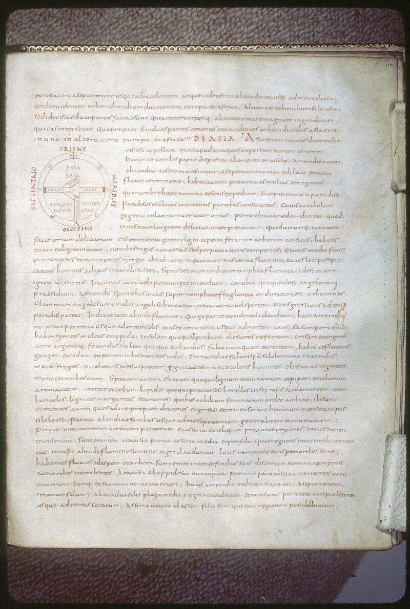 Tours, Bibl. mun., ms. 0844, f. 110 - vue 1