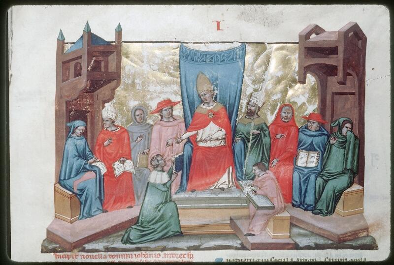 Tours, Bibl. mun., ms. 0573, f. 001 - vue 2