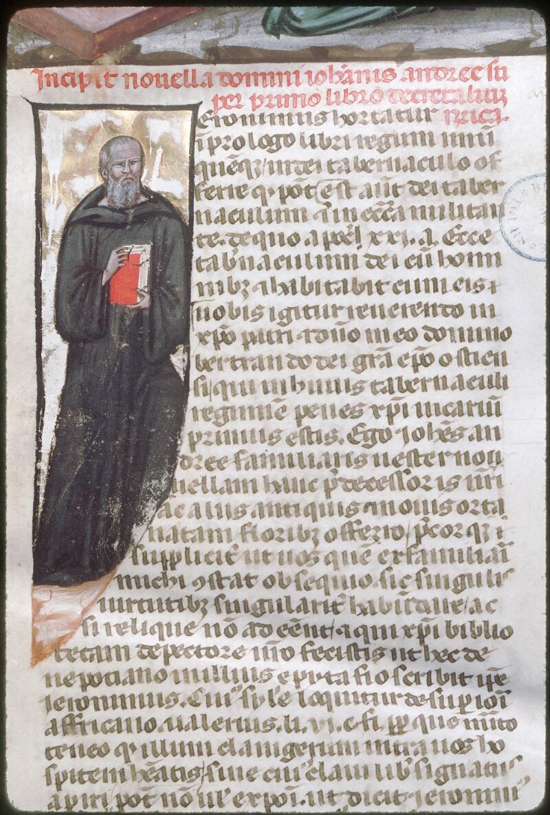 Tours, Bibl. mun., ms. 0573, f. 001 - vue 3