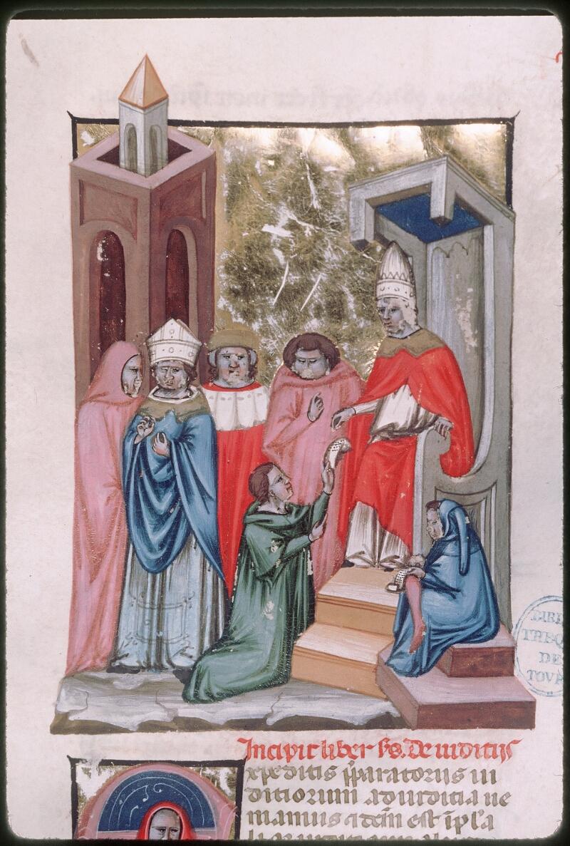 Tours, Bibl. mun., ms. 0573, f. 211 - vue 2