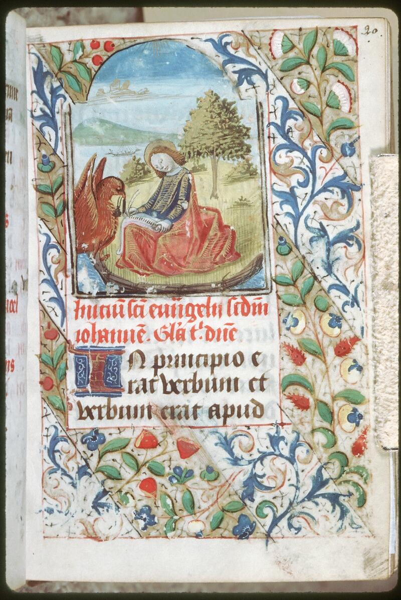 Tours, Bibl. mun., ms. 0227, f. 020 - vue 1