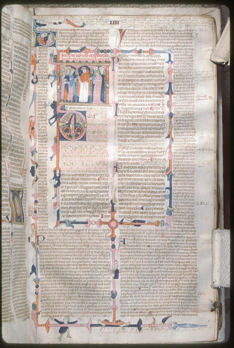 Tours, Bibl. mun., ms. 0568, f. 225 - vue 1