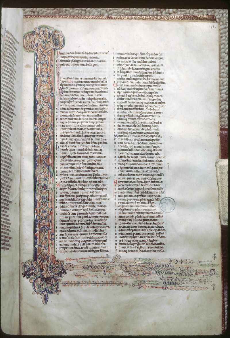 Tours, Bibl. mun., ms. 0879, f. 093 - vue 1