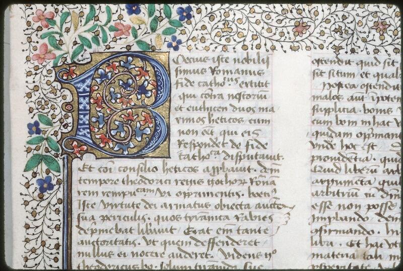 Tours, Bibl. mun., ms. 0699, f. 001 - vue 2