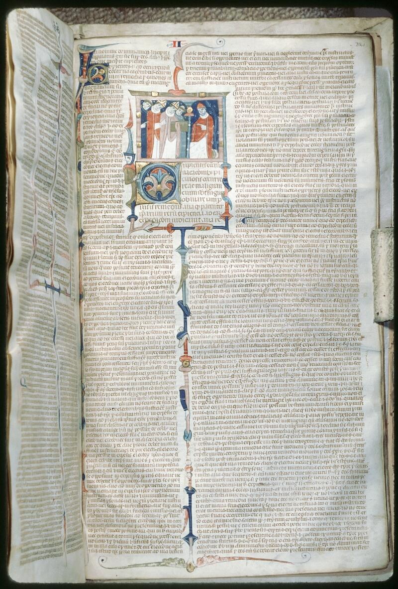 Tours, Bibl. mun., ms. 0568, f. 321 - vue 1