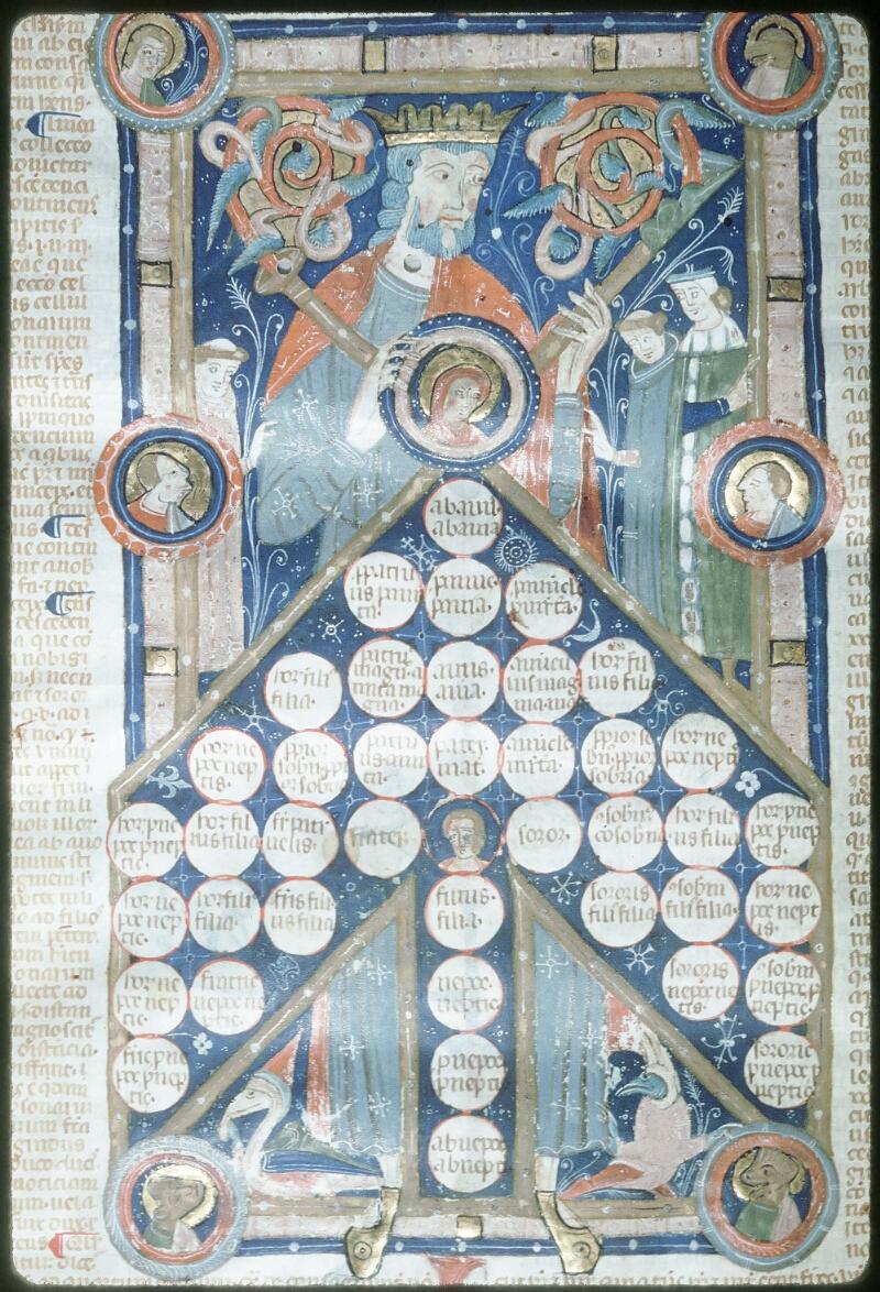 Tours, Bibl. mun., ms. 0568, f. 332v - vue 1