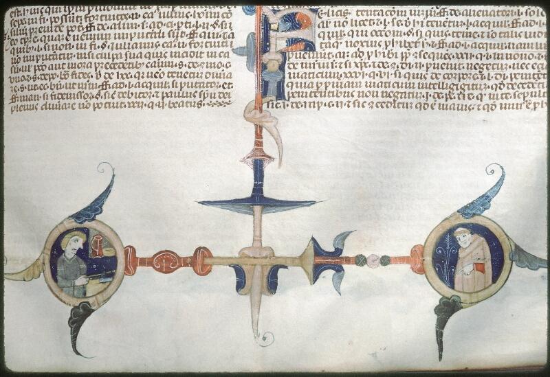 Tours, Bibl. mun., ms. 0568, f. 267 - vue 2