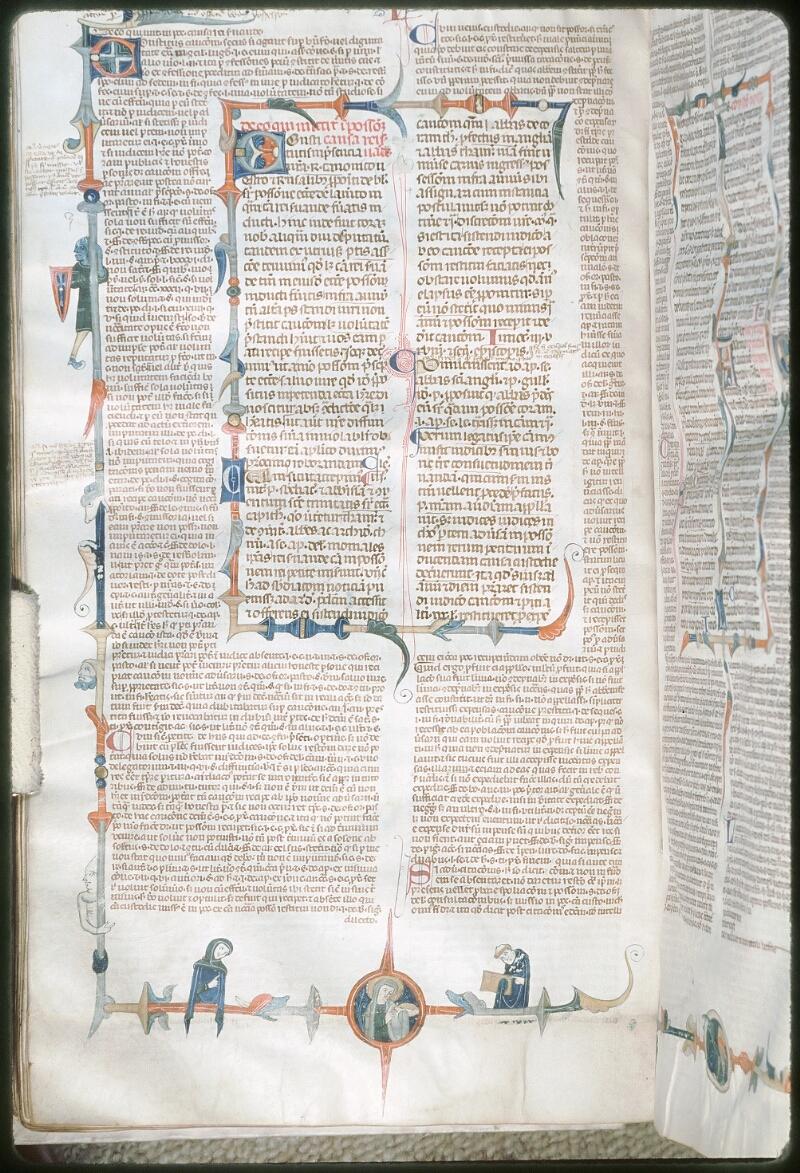 Tours, Bibl. mun., ms. 0568, f. 106v - vue 1