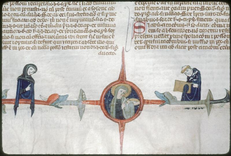 Tours, Bibl. mun., ms. 0568, f. 106v - vue 3