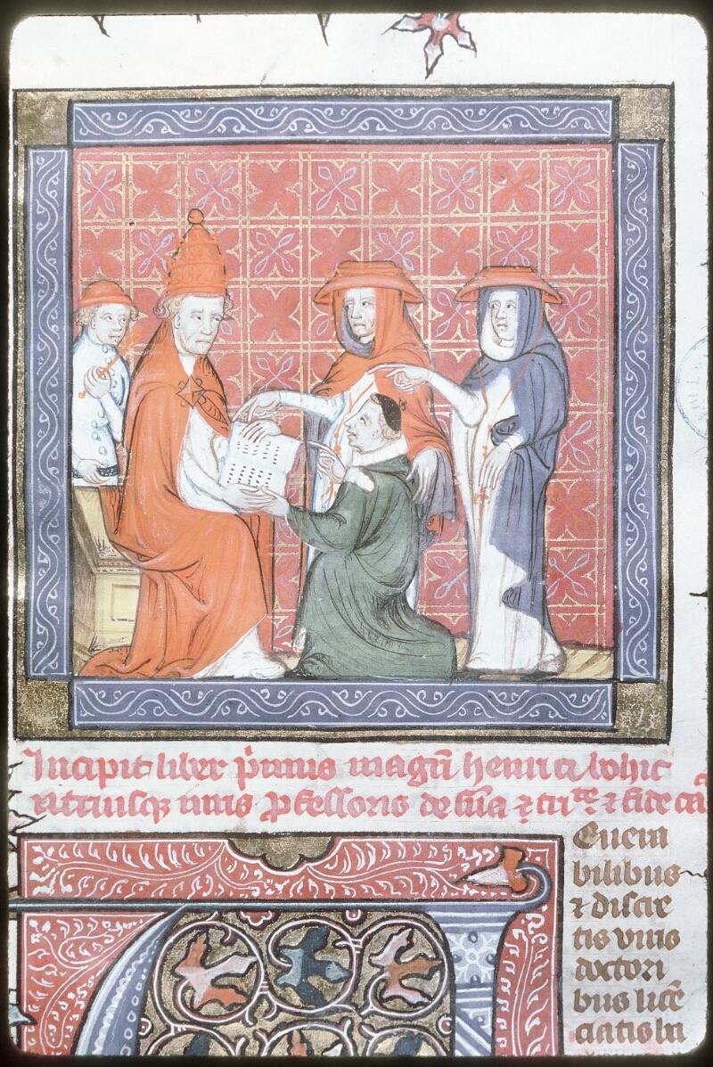 Tours, Bibl. mun., ms. 0575, f. 001 - vue 2