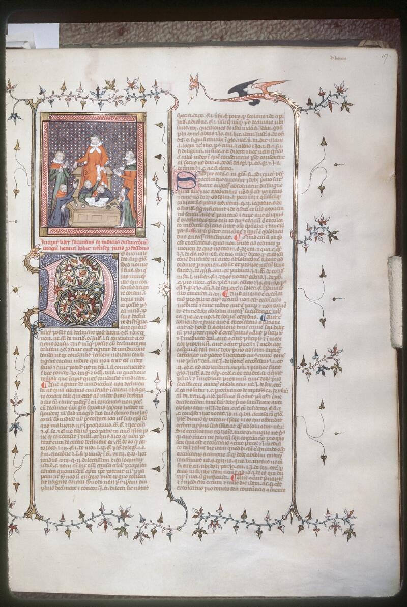 Tours, Bibl. mun., ms. 0575, f. 117 - vue 1