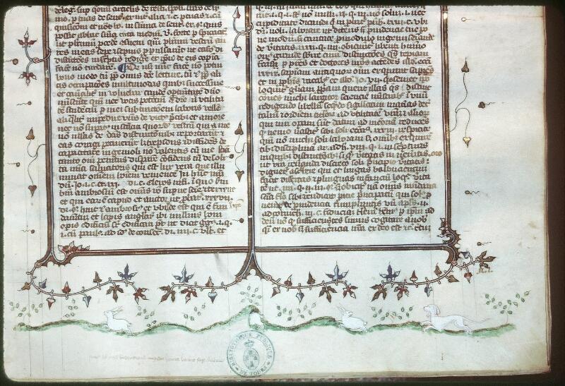 Tours, Bibl. mun., ms. 0576, f. 028 - vue 3